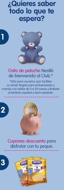 Nestlé regala un osito de peluche