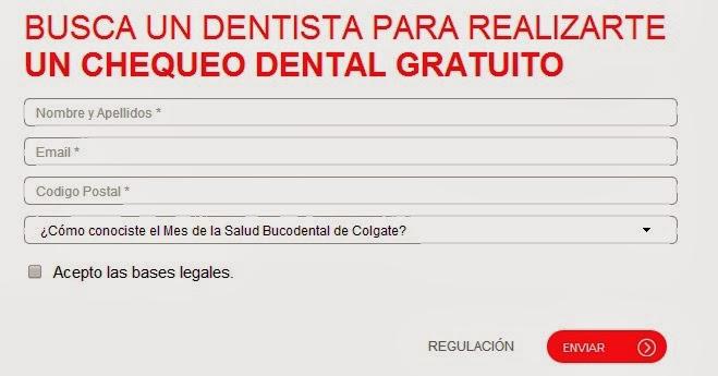 Chequeo dental gratis
