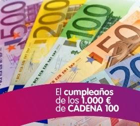 el cumpleaños de los 1000€