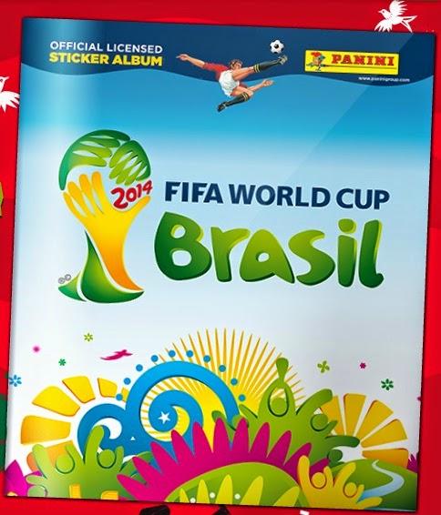 álbum de cromos virtual del mundial de futbol 2014