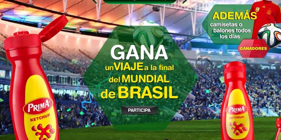 Mundial de Brasil 2014 gratis con Prima
