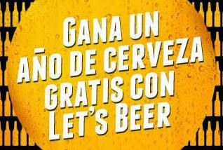un año de cerveza gratis