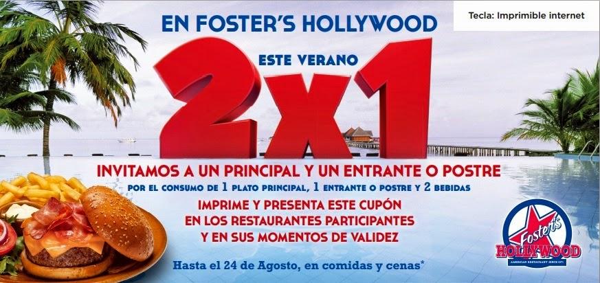 promoción Foster's Hollywood