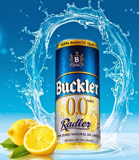 cupón descuento Cerveza Buckler 0,0 radler gratis
