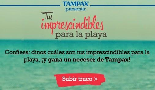 concurso tampax