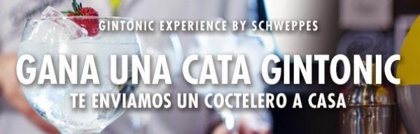 promoción schweppes cata gintonics