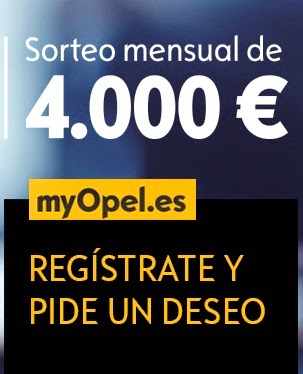 opel sortea 4000 euros