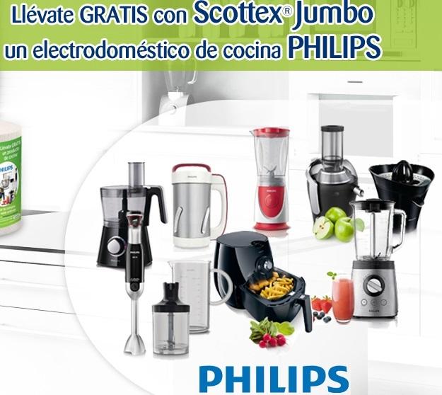 Gana electrodomésticos gratis con Scottex