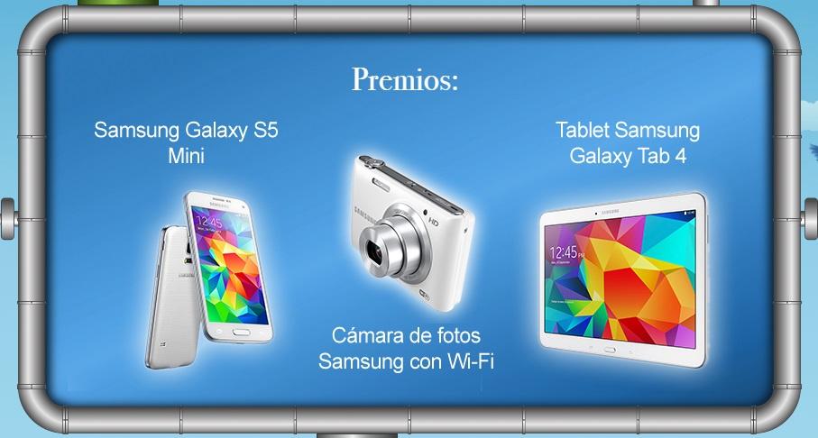 consigue premios Samsung gratis