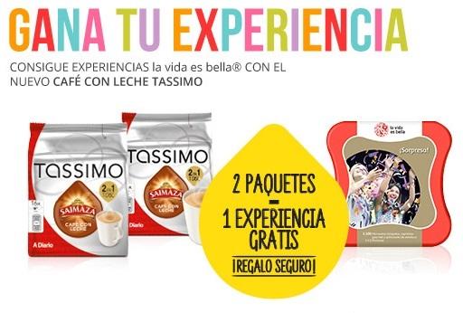 experiencias gratis con Tassimo