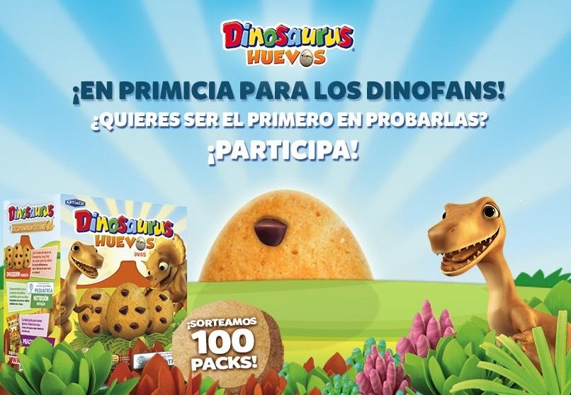promoción galletas dinosaurio gratis