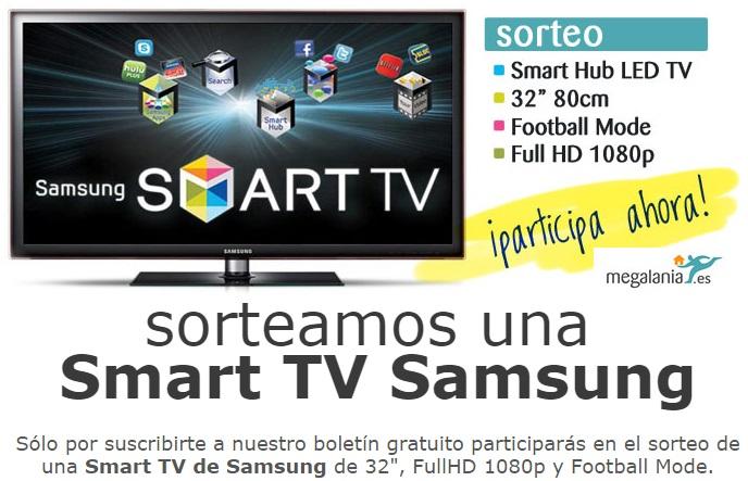 smart tv samsung 32'' gratis