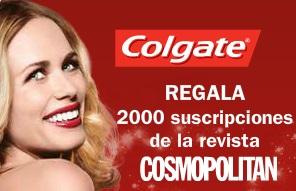 Colgate regala 2.000 suscripciones a Cosmopolitan