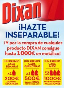 Consigue hasta 1.000 euros con Dixan