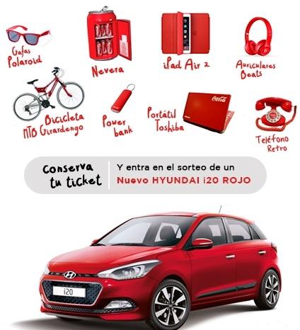 cambia al rojo con regalos Coca-Cola