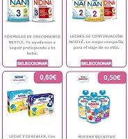 cupones descuento Nestlé Bebé