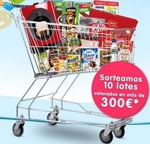 gana más de 300 euros en productos Nestlé