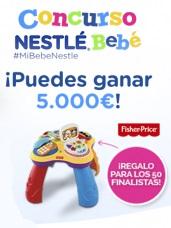 ganar 5.000 euros con el concurso Nestlé Bebé 2015