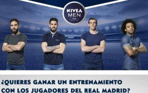 Entrena con el Real Madrid