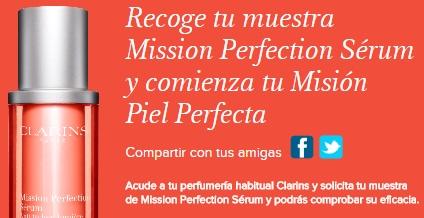 muestras gratis de Mission Perfection Sérum