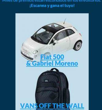 gana un Fiat 500 y muchos premios más