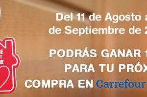 promoción Carrefour consigue 100 euros