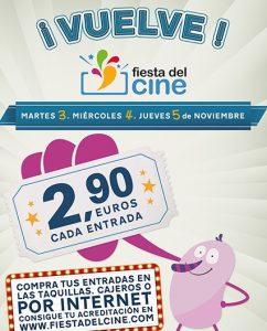 nueva Fiesta del Cine Noviembre 2015