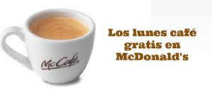 mcdonals cafe gratis