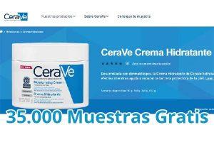 Muestras gratis de productos Cerave