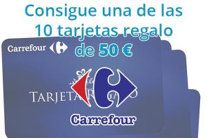 Sorteo Carrefour regalo 50 euros
