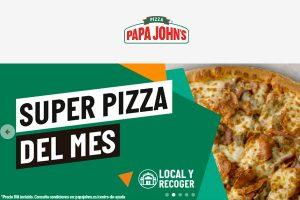Papa John's Promociones y ofertas