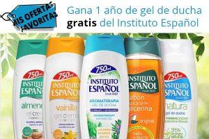 Gel de baño gratis Instituto español