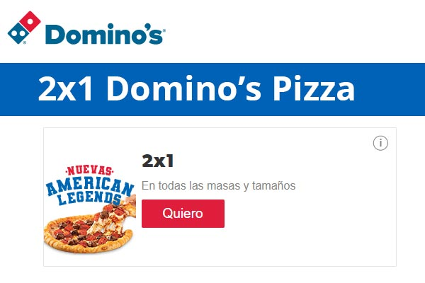 Dominos Pizza gratis