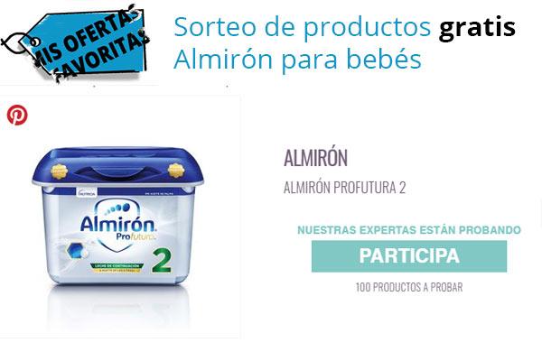 Sorteo Almirón productos gratis