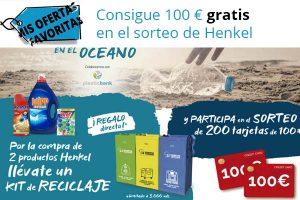 Sorteo 100€ Henkel