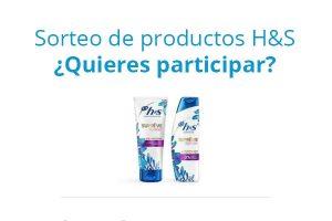 sorteo p&g productos h&s