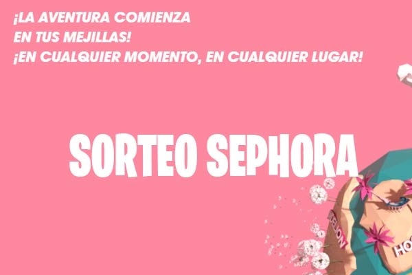 Sorteo de Sephora