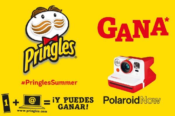Concurso Pringles cámara polaroid