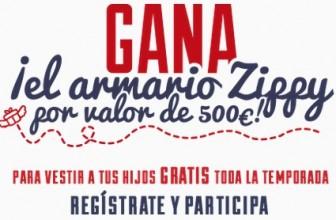 Consigue premios de hasta 500 euros con Zippy
