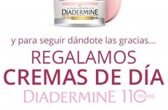 Sorteo de cremas Diadermine 110 gratis