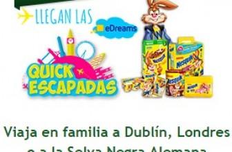 Viajes gratis a Londres, Dublín o Alemania con Nesquik
