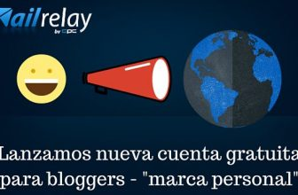 Cuenta gratuita Email Marketing para Bloggers