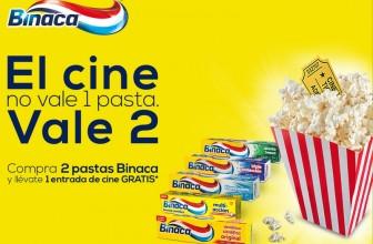 Entras de cine gratis con Binaca
