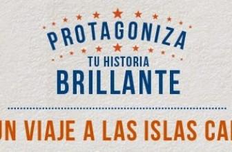 Gana un viaje a las Islas Canarias para dos personas