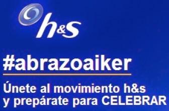 Sorteo de 1 viaje a Brasil gratis y varios lotes de productos con el movimiento h&s #abrazoaIker