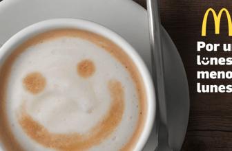Café gratis los Lunes en McDonals