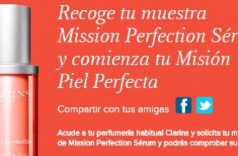 Muestras gratis de Mission Perfection Sérum