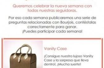 Productos Bourjois gratis