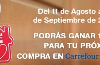 Promoción Carrefour: consigue 100 euros