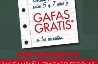 Promoción de Alain Afflelou gafas gratis